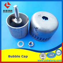 Stainless Steel 304L 316L Metal Plastic Bubble Cap Tray