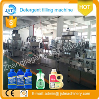 factory price (shampoo / liquid soap making plants) Automatic bottle liquid laundry hand washing detergent filling machine