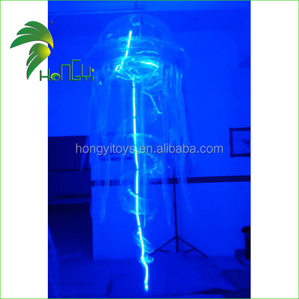 New Christmas Wedding Party LED Light Decoration Inflatable Jellyfish for Sale