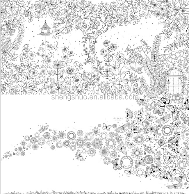 Secret Garden Coloring Book Pdf Free Pyihome Japan