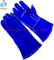 cowhide split leather welding glove reinforced industrial glove manufacturer penang