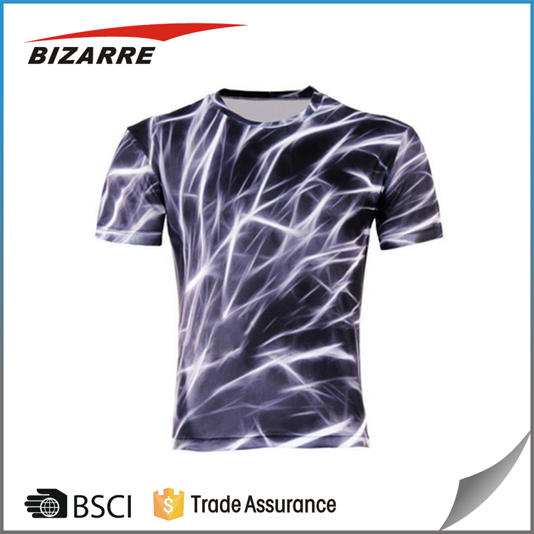 High quality machine grade running t shirts designs with certificate