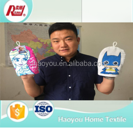 order direct from china factory customed new style glove towel for kitchen