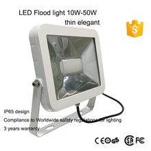 high quality cheap price elegant 30 watt led flood light ultra thin outdoor lighting 50w