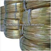 Brass wire for zipper