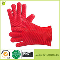 Heat Resistant Max Heat Silicone Bbq Grill Oven Mitts Gloves