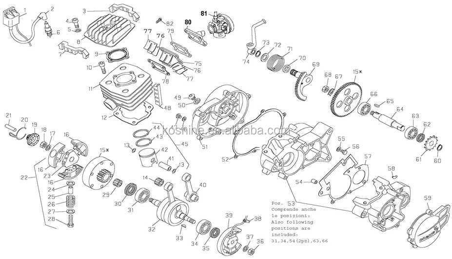 2 stroke dirt bike engine spare parts  view 2 stroke dirt