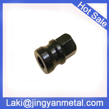 china made cnc machinery blacken stainless steel flange valve cover nut