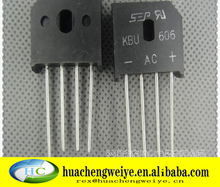 New Original electronics IC kbu606 rectifier bridge rectifiers
