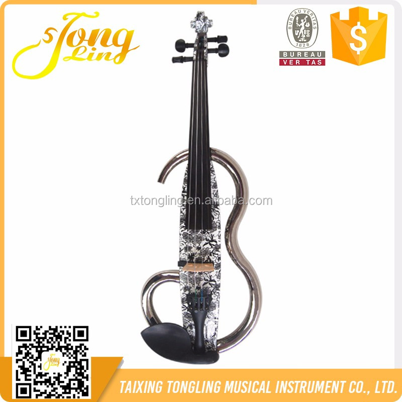 2016 Best Design Art Painting Advanced Electric Violin