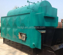 Automatic chain grate 6 ton pellet fired biomass steam boiler