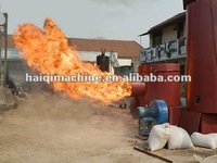 environmental biomass burner for combustion furnaces