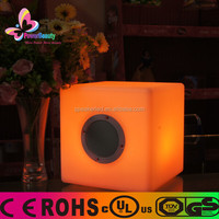2015 high class promotion ipx7 mobile phone portable laptop box mini cube music bluetooth speaker with tf/usb/fm radio/ app ctrl