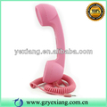 Creative Rubber 3.5MM Retro Phone Headset For Iphone Factory Price Pink
