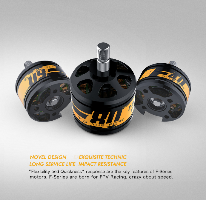 New product F motor for FPV racing 250mm frame by T-motor