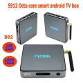 2017 mecool bb2 best amlogic s912 octa core iptv smart tv android set top ott box