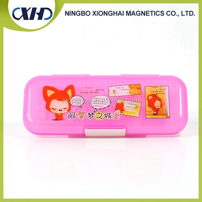 Bigger Translucent Plastic Pencil Case For Kids