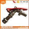 LB-GutenTop Long handle Zinc/brass Bibcock valve for water