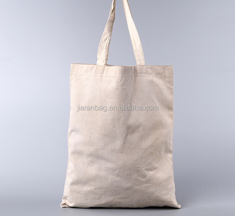 Handled Style and Cotton/Canvas/non woven bag Material most popular cheap plain tote canvas bag