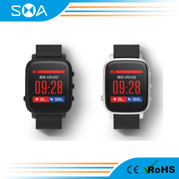SMAWATCH IP67 waterproof smart watch, 45days standby time, connected gps, SMART-TIME smart watch SMA-Q2
