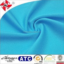 Smooth 4 way stretch 85% nylon 15% elastane lycra fabric for swimwear sportswear