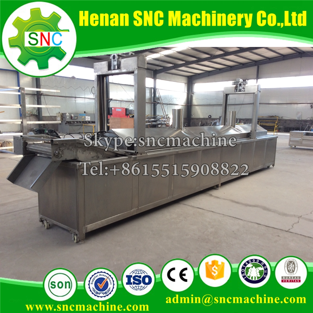 SNC Potato chips production line Factory direct supply frozen french fries production