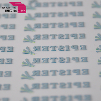 Wholesale garment silicone heat transfer printing label for clothing