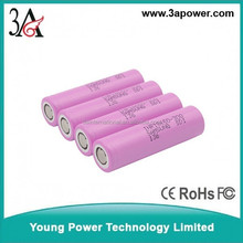 samsung INR18650-30Q 3000mah 3.6v 20A 18650 high discharge rate battery cells for e-cig