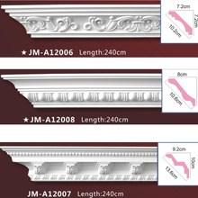 PU Good price beautiful new modern decorative Polyurethane ceiling cornice moulding