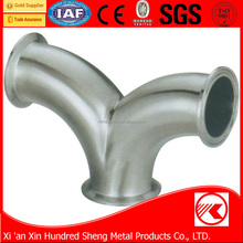 High quality competitive price y tee pipe fitting