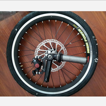 Aluminium Alloy 20 Inch Bicycle Wheels With Disc Brake