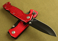 OEM red design outdoor life high quality Outdoor camping knife UDTEK01875
