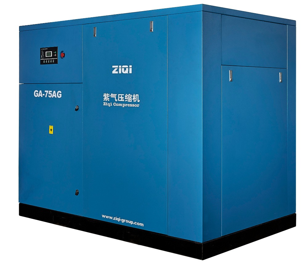 100hp Rotary Screw Type Air Compressor For Gas Station
