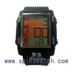 Novelty item multifunction famous brand name watch