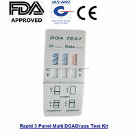 Rapid 3 Panel Multi DOA Drugs Test Kit FDA and CE Approved