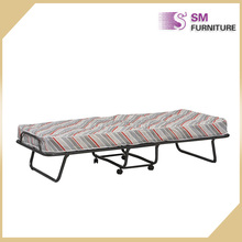Cheap price metal folding bed custom strong bed to sale