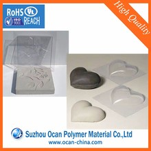 Rigid Plastic Clear PVC Sheet with Recycled Material for Cement Tray