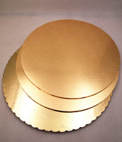 Food grade gold foil and silver foil cheap cake board with customized size and material