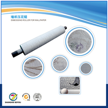 Laser engraving wall texture printing cylinder
