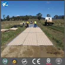 Plant Offers Temporary Truck Crane Marish Tough Ground Protection Mat
