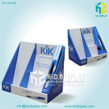 HIC 4 offset CMYK Printing Matt Lamination Corrugated Cardboard PDQ Display Box for Watch