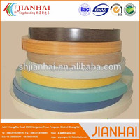 High tenacity high gloss PVC edge banding with low price