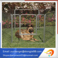 4x4x6 foot classic galvanized duarable outdoor large dog kennel wholesale(ISO/CE/BV certificated supplier)