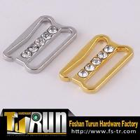 Guangdong factory custom metal fancy rhinestone buckle