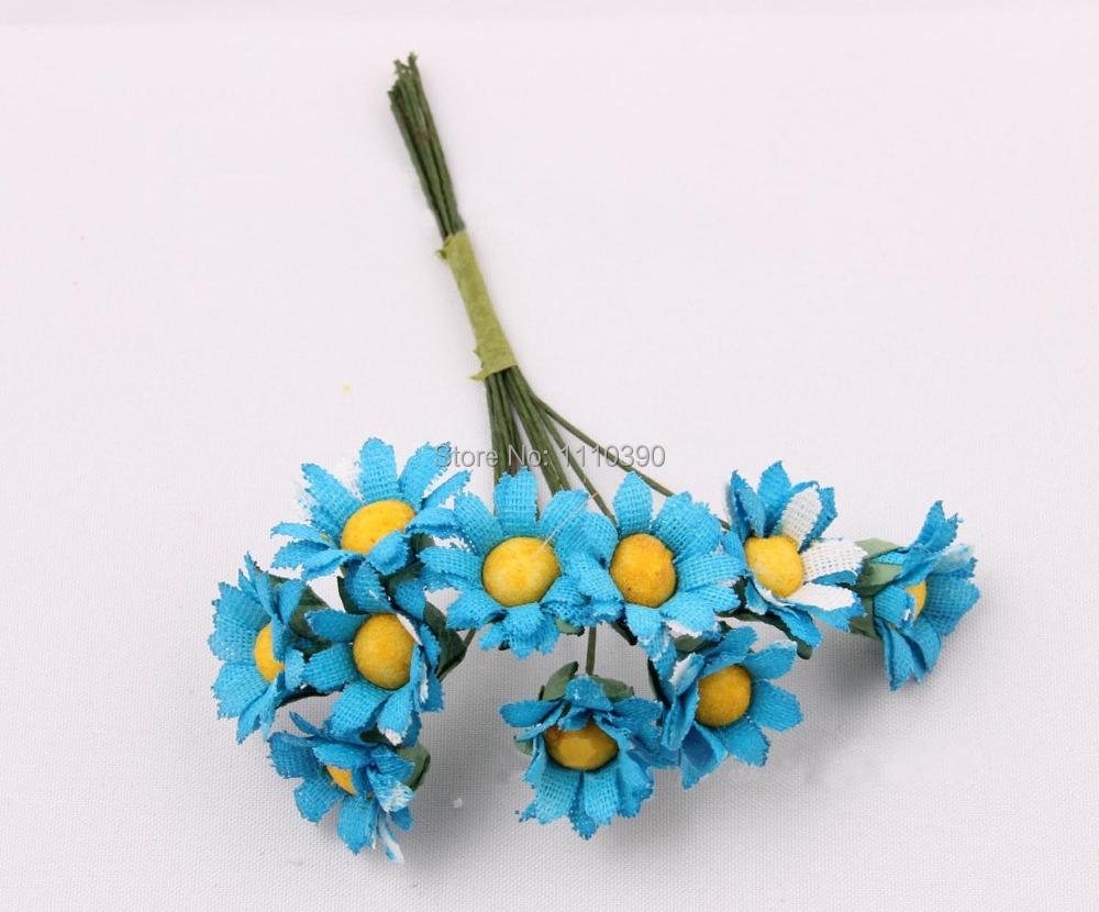 Buy 15cm Mini Artificial Flower Bouquetsilk Gerbera Fake Daisy