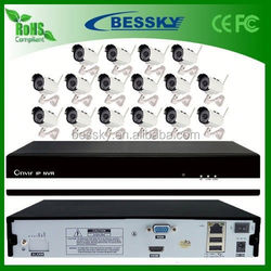 2015 Bessky 16CH wifi camera system 720P 960P wireless complete cctv accessories best selling products in nigeria