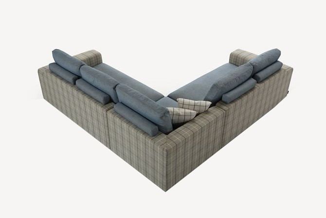 Wooden Frame Sectional Fabric Sofa Set Designs View Sofa