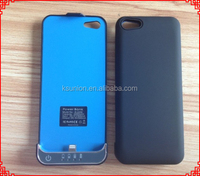 2200mah external backup cover battery case for iphone 5 5s