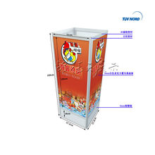 customised shanghai display showcase from advertising equipment 001896