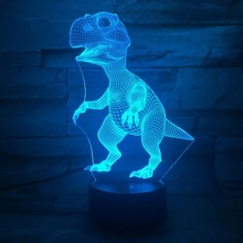 Unique Acrylic USB Color Changing 3D LED Night Light